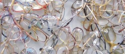 gebrauchte Brillen, alte Brillen, second-hand-glasses
